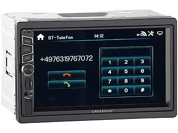 Autoradio Bluetooth Freisprech
