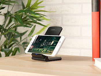 callstel handy ladeger t schnell ladestation f r qi. Black Bedroom Furniture Sets. Home Design Ideas