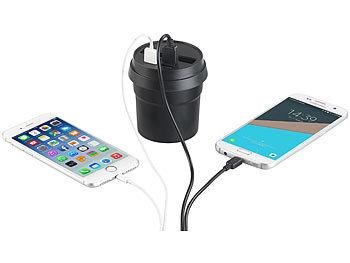 Ladegeräte für Smartphones und Tablets. Netz und KFZ