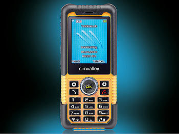 simvalley MOBILE Action- & Outdoor-Handy XT-710 V.2 - VERTRAGSFREI simvalley MOBILE Outdoor Handys