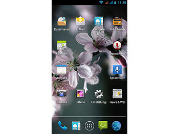 "simvalley MOBILE Smartphone SP-2X.SLIM DualCore 4.0"", Android 4.2, BT4 simvalley MOBILE Android Smartphones"