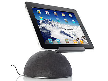 auvisio Aktive Universal-Sound-Station MSS-240.k für iPad & Tablet-PC auvisio Sound-Stationen mit Tablet-Halter
