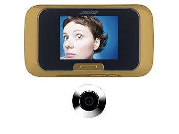 somikon digitale t rspion kamera mit video und foto. Black Bedroom Furniture Sets. Home Design Ideas