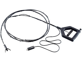 Wasserfestes USB-Endoskop UEC-8025.hd mit HD-Kamera und Greifer, 2,5 m / Endoskop