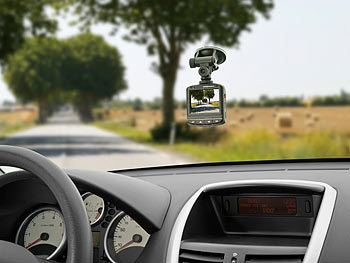 "NavGear Full-HD-Dashcam MDV-2350 mit G-Sensor, 2,4""-Display NavGear Dashcams mit G-Sensor (HD) Bild 0"