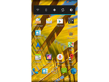 "simvalley MOBILE Dual-SIM-Smartphone SPX-28 QuadCore 5.0"", Android 4.2 simvalley MOBILE Android Smartphones"