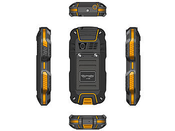 simvalley MOBILE Dual-SIM-Outdoor-Handy mit Walkie-Talkie XT-980 simvalley MOBILE Dual-SIM Outdoor-Handy mit Walkie-Talkie-Funktion
