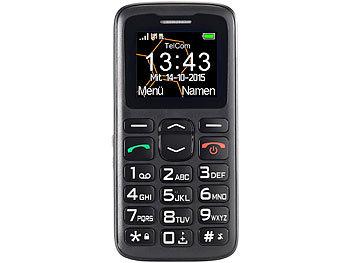 simvalley mobile telefon komfort handy xl 915 v2 mit garantruf ladestation senioren notruf. Black Bedroom Furniture Sets. Home Design Ideas