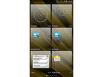 "simvalley MOBILE Dual-SIM-Smartphone SPX-26 QuadCore 5.0"", Android 4.4 simvalley MOBILE Android Smartphones"