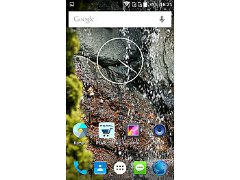 "simvalley MOBILE Dual-SIM-Outdoor-Smartphone, LTE, 4""/10,2-cm-TFT, Android 5.1, IP67 simvalley MOBILE Android-Outdoor-Smartphones"