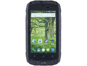 "simvalley MOBILE Dual-SIM-Outdoor-Smartphone, LTE, 4""/10,2-cm-TFT (refurbished) simvalley MOBILE Android-Outdoor-Smartphones"