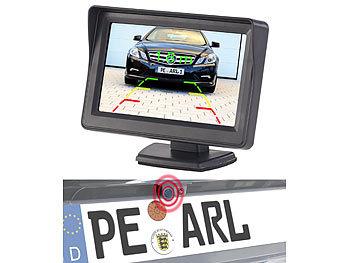Farb-Rückfahrkamera und Einparkhilfe mit 10,9-cm-TFT-Rückfahrmonitor / Rückfahrkamera