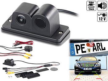Farb-Rückfahrkamera und Einparkhilfe, 90°-Bildwinkel, Abstandswarner / Rückfahrkamera