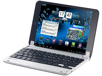 "GeneralKeys Aluschutzcover mit Bluetooth-Tastatur, 7,9""Android-Tablets GeneralKeys Bluetooth Tastaturen"