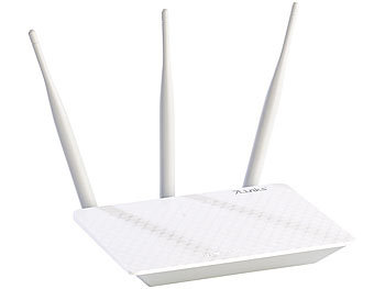 7links 300-Mbit-High-Power-WLAN-Router mit einstellbarer Sendeleistung 7links WLAN-Router