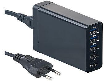 4 Handy Ladegeräte & Dockingstationen mit USB Anschlüssen