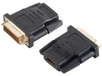 Display-Adapter HDMI-Buchse auf DVI-D-Stecker / Hdmi Adapter