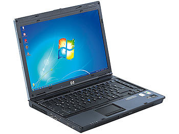"hp Notebook 6910p, 14,1""/36cm, 2x2,0GHz, 1GB RAM, 80GB HDD, Win7 hp Notebooks"