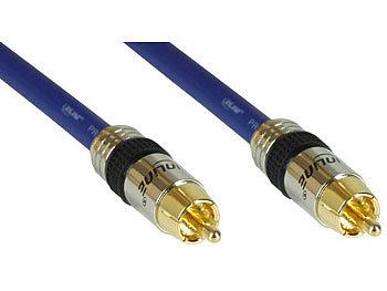 inLine Digitales Coax-Cinch-Kabel Audio 1-fach Stecker ...