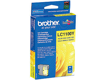 Brother Mfc 5890cn: Brother Original Tintenpatrone LC1100Y, yellow