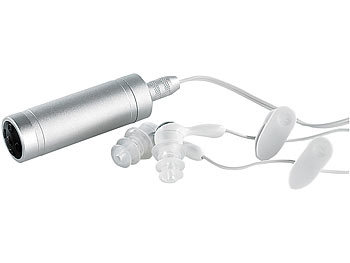"auvisio Wasserdichter MP3-Player ""DMP-420.H2O"" 2 GB aus Aluminium auvisio Wasserdichter MP3 Player"