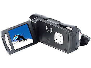 "Somikon Full-HD-Camcorder DV-812.HD mit 6,9-cm-Display (2,7""), 12 MP & HDMI Somikon Full-HD Camcorder"