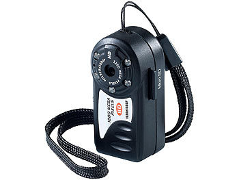 Full-HD-Mini-Kamera AC-1080.ir mit IR-Nachtsicht / Mini Kamera