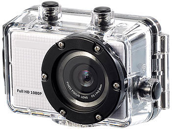 "Somikon Full-HD-Action-Cam mit WiFi, H.264 und HDMI ""DV-800.WiFi"" Somikon Action-Cams Full HD"