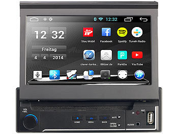 navgear 1 din android autoradio mit 7 navi dsr n 210 europa. Black Bedroom Furniture Sets. Home Design Ideas