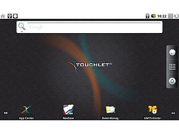 "TOUCHLET Tablet-PC X2 mit Android 2.2 & 17,8cm/7""-Touchscreen TOUCHLET Android Tablet PCs (MINI 7"")"
