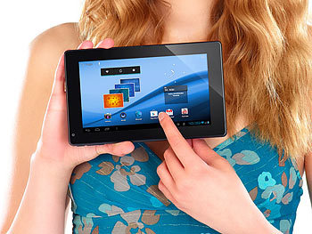 "TOUCHLET Tablet-PC X5 mit Android4.0, kapazitivem 7""-Touchscreen, HDMI TOUCHLET Android Tablet PCs (MINI 7"")"