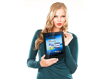 "TOUCHLET 9,7""-Tablet-PC X10.dual mit Doppelkern-CPU, Android 4.1, HDMI"