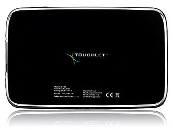 "TOUCHLET 7""-Tablet-PC X7Gs mit GPS, Multi-Touch, HDMI, Android4.0 TOUCHLET Android Tablet PCs (MINI 7"")"