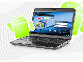 "Meteorit 10,1""-Android-Netbook ""NB-10.dual"" mit HDMI Meteorit Android-Netbooks"