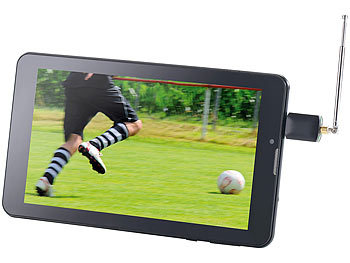 auvisio Android Mini-DVB-T-Receiver aDTV-400 auvisio DVB-T Receiver für Android Smartphones