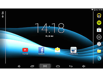 "TOUCHLET 10.1""-Tablet-PC XA100 mit Bluetooth 4.0 und Android 4.4 TOUCHLET Android Tablet PCs groß"