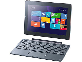 "TOUCHLET 10,1""-Tablet-PC XWi10.twin mit IPS-Display und Windows 8.1 TOUCHLET Windows 8 Transformations-Tablets / -Netbooks"