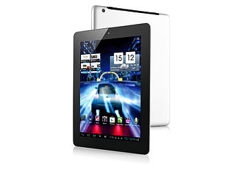 "TOUCHLET 9,7""-Tablet-PC X10.quad+ mit 4-Kern-CPU, HD-Display, 3G TOUCHLET Android Tablet PCs groß"
