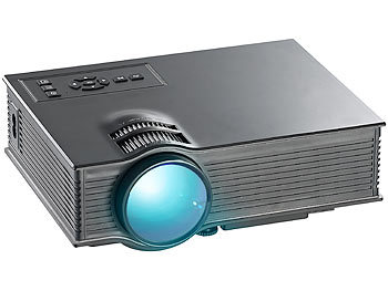 SceneLights SVGA-LCD-LED-Beamer LB-8300.mp mit Mediaplayer, 800 x 480 Pixel SceneLights LED Beamer