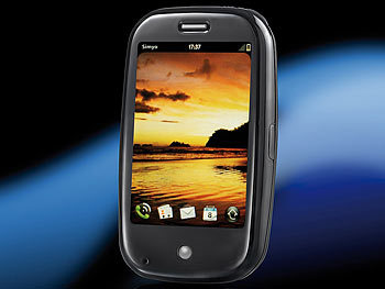 Pre Touchscreen-Smartphone mit GPS, UMTS, WiFi, 8GB, Tastatur