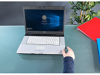 Xystec Kleiner USB-Fingerabdruck-Scanner für Windows 10, 10 Profile Xystec USB-Fingerabdruck-Scanner für Windows Hello