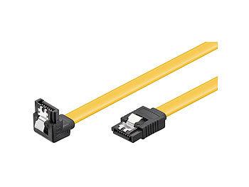 HDD/SSD SATA  Kabel 1,5/3,0/6,0 GBit/s (SATA L-Type > L-Type 90°) 0,5m / Sata Kabel