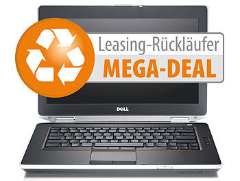 "Dell Latitude E6420, 35,6 cm/14"", Core i7, 8 GB, 320 GB, Win 10 (refurb.) Dell Laptops"