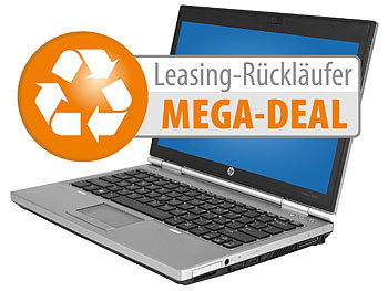 "hp Elitebook 2570p, 31,8 cm/12,5"", Core i5, 128 GB SSD, Win 10 (refurb.) hp Notebooks & Laptops"