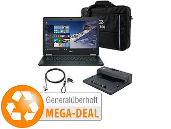 "günstig Laptop: Dell Latitude E5270, 12,5"" / 31,8 cm, SSD, Dockingstation (generalüberholt)"