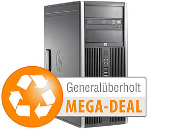 hp Elite 8200MT, Core i7, 8 GB RAM, 500 GB HDD (generalüberholt, 2.Wahl)