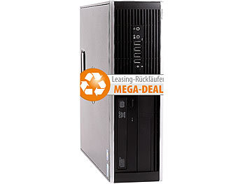 hp Compaq 6000 PRO SFF, Intel E5800, 8 GB, 2 TB HDD, Win 10 (refurb.) hp Computer