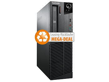Lenovo ThinkCentre M92p SFF, Core i5, 4 GB, 500 GB, Win 10 Pro (refurbished) Lenovo Computer