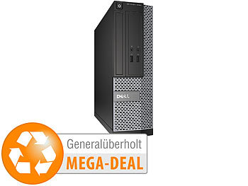PC generalüberholt: Dell Optiplex 3020 SFF, Core i5, 8 GB, 256 GB SSD, Win 10 (generalüberholt)