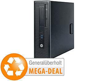 Prodesk 600 G1 SFF, Core i3, 8GB, 240GB + 500GB (generalüberholt)